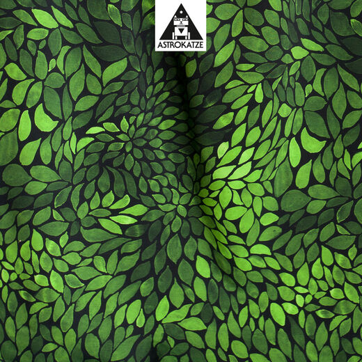 ColorLeaves organic jersey, mini edition: moss green