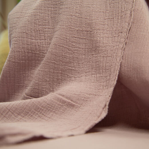 Double gauze, cotton-bamboo: light lilac