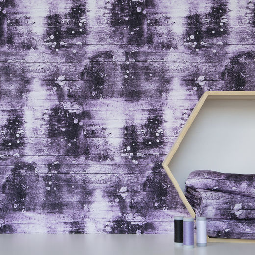 Digital print: Concrete, lilac