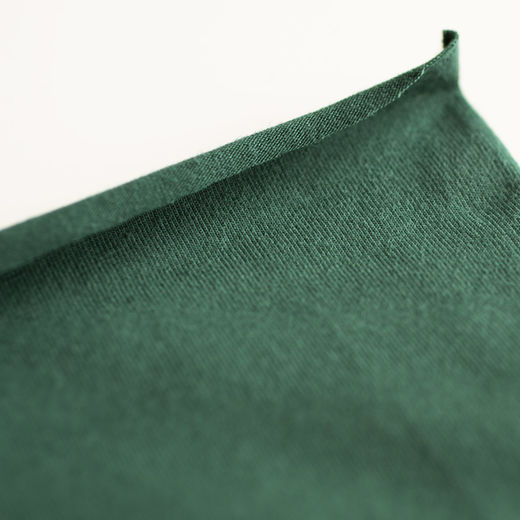 Organic jersey: Hunter green