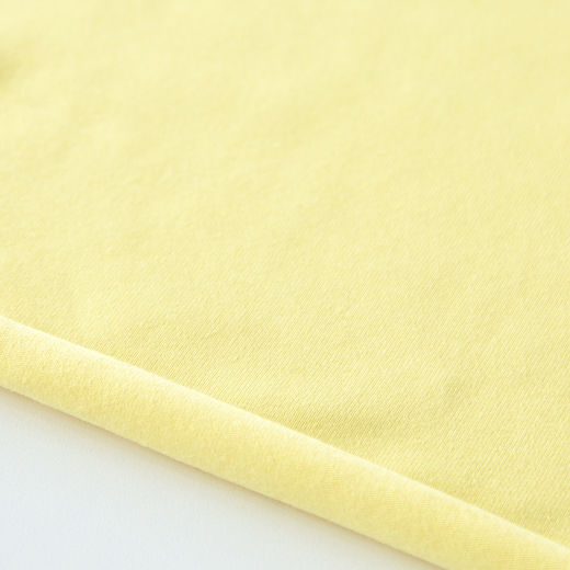 Organic jersey: Light yellow