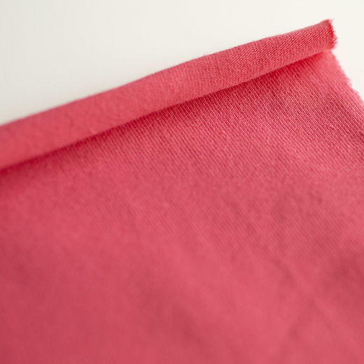 Organic jersey: Bright coral