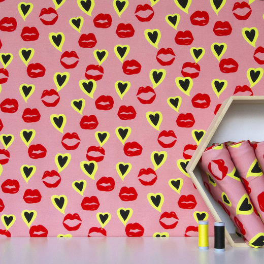 Digital print: Lips
