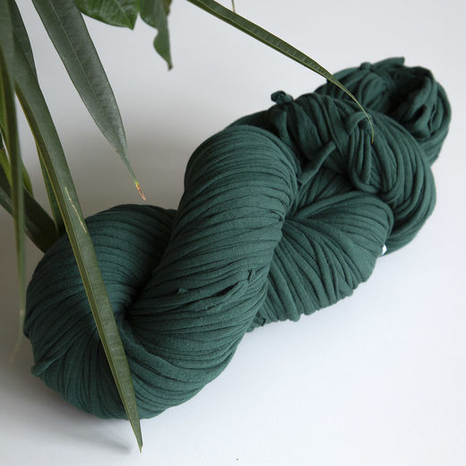 Hulpio jersey yarn, hunter green