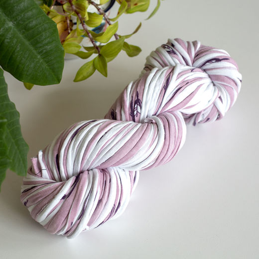 Hulpio jersey yarn, rose B