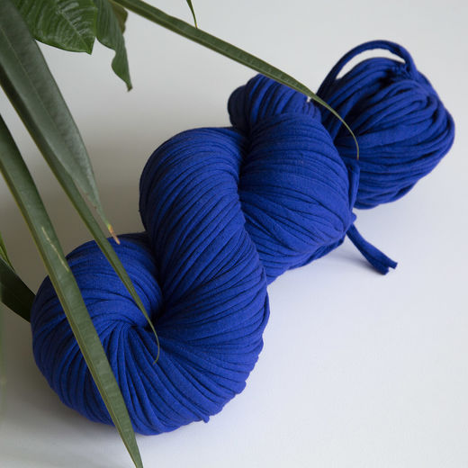 Hulpio jersey yarn, deep blue
