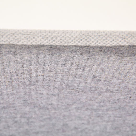 French terry, light grey melange