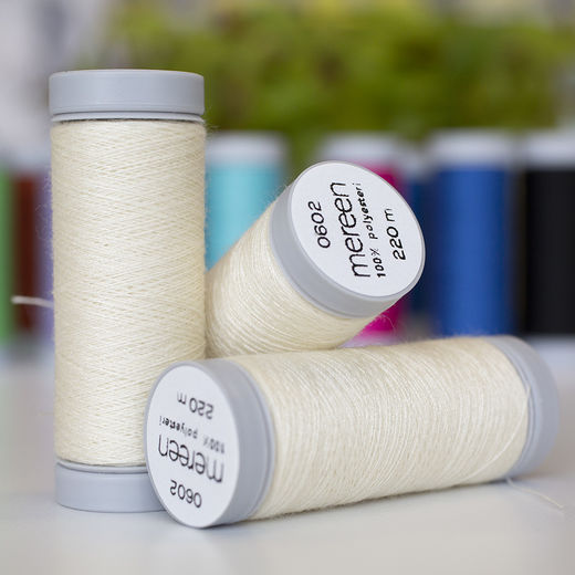 Vanilla sewing thread