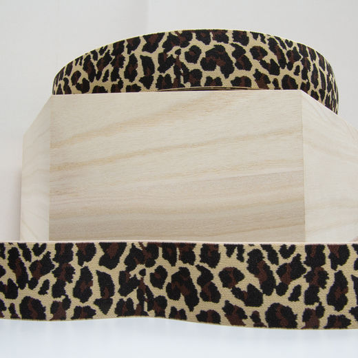 40mm elastic for boxers: Panther, latte