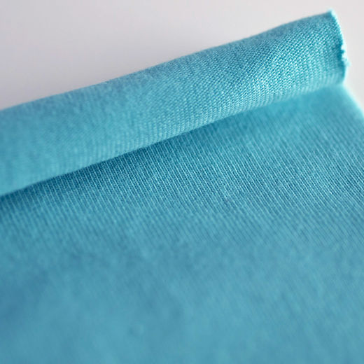 Organic jersey: Turquoise