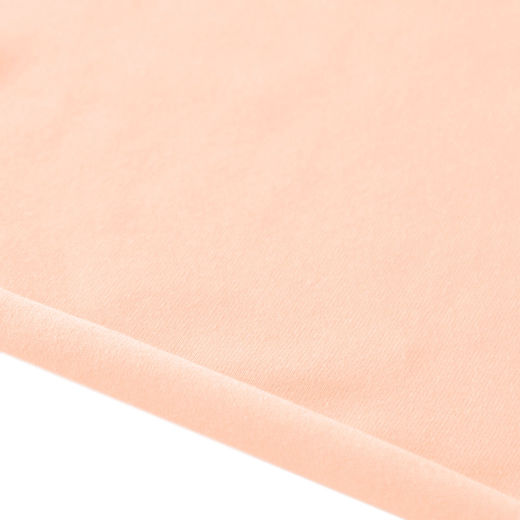 Light peach bamboo jersey knit