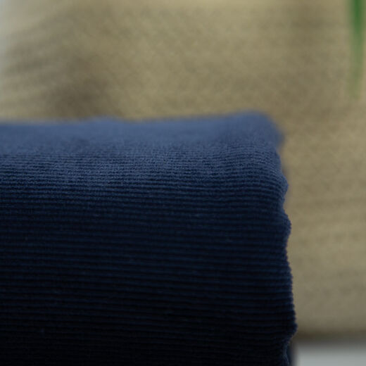 Jersey velours corduroy: dark blue